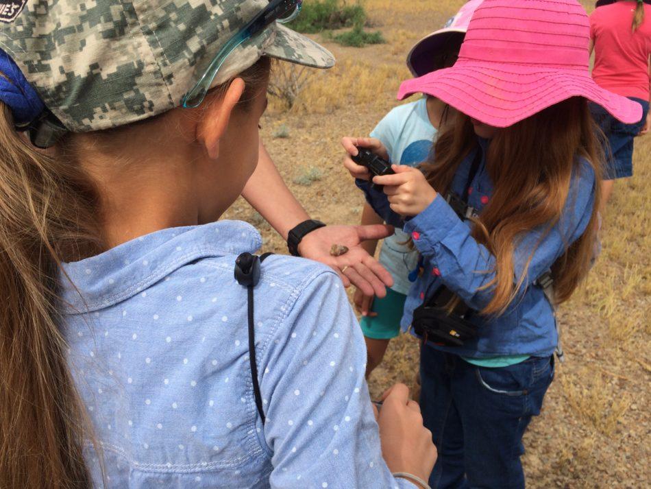 Kids at Big Bend National Park